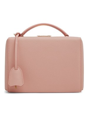 Mark Cross small grace leather crossbody box bag