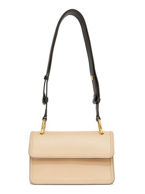 Marni beat small multi-pouch leather shoulder bag