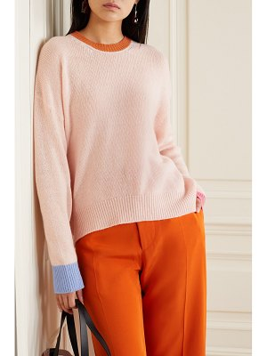 Marni color-block cashmere sweater