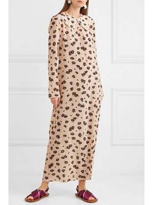 Marni floral-print silk-blend crepe maxi dress
