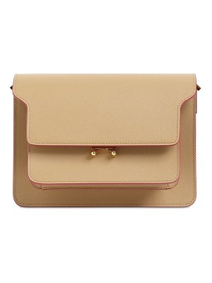 Marni Medium trunk leather shoulder bag