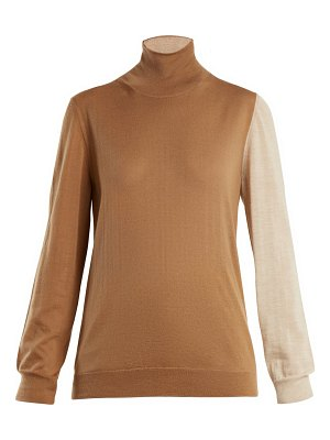 Marni Roll-neck cashmere-knit sweater
