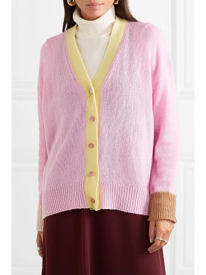 Marni striped cashmere cardigan