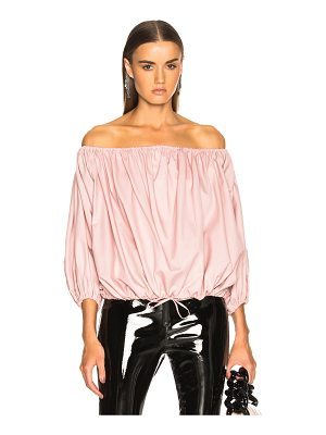 MARQUES ALMEIDA Off Shoulder Top