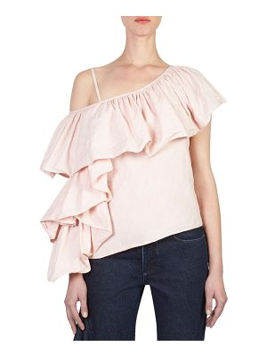 MARQUES ALMEIDA one-shoulder ruffle top