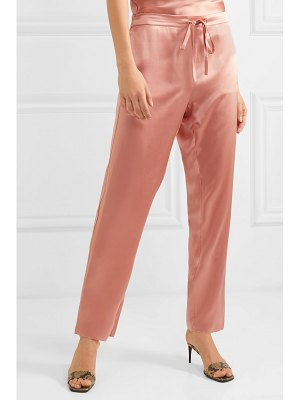Marques' Almeida silk-satin tapered pants