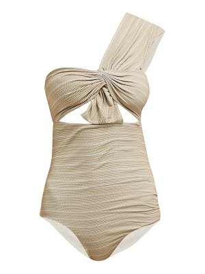 Marysia Swim venice one-shoulder cut-out swimsuit