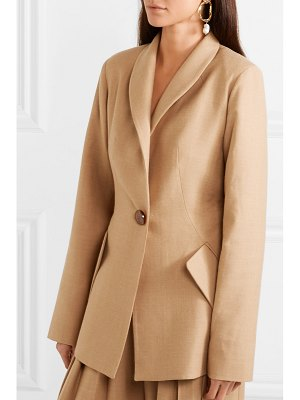 MATÉRIEL bar oversized wool-blend blazer