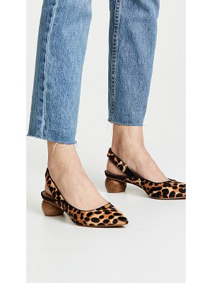 Matiko circa slingback haircalf pumps