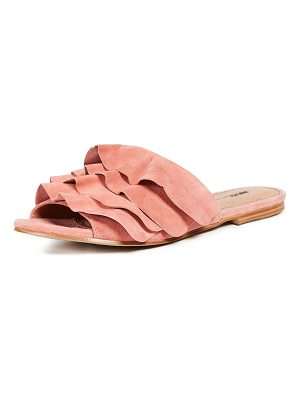 MATIKO Roselyn Ruffled Sandals