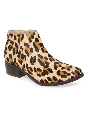 Matisse billie genuine calf hair bootie