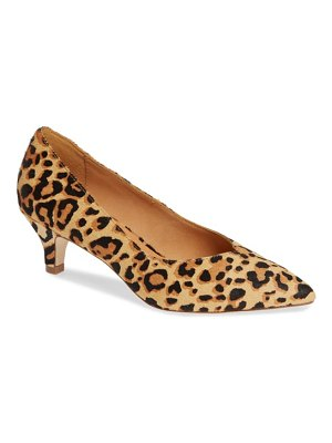 Matisse chateau genuine calf hair pump