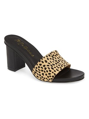 Matisse nico genuine calf hair slide sandal
