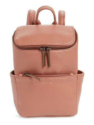 Matt & Nat mini brave faux leather backpack