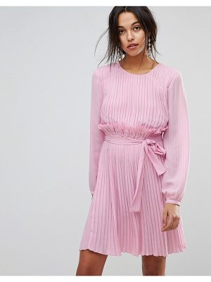 Max & Co Candy Pink Ruffle Dress