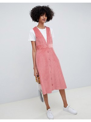 Max & Co corduroy a-line dress
