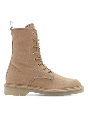 Max Mara 30mm baker brushed cashmere boots