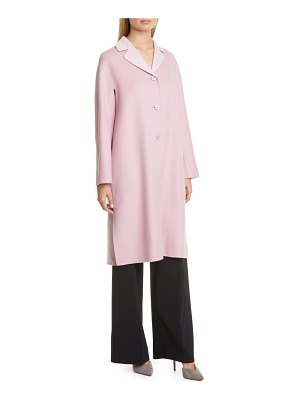 Max Mara aretusa belted wool blend coat