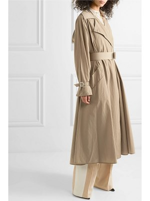 Max Mara belted shell trench coat