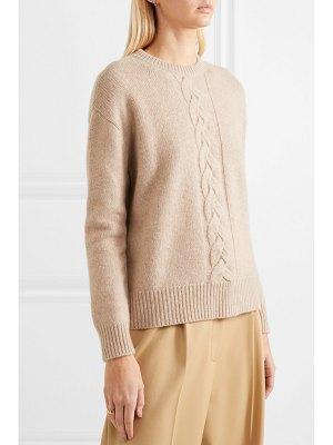 Max Mara cable-knit cashmere sweater