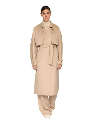 Max Mara Cashmere blend sleeveless coat & bolero