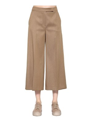 Max Mara Cropped wool denim pants