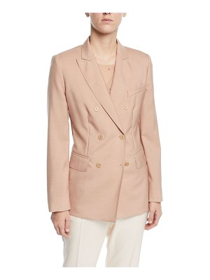Max Mara Daniel Double-Breasted Twill Blazer