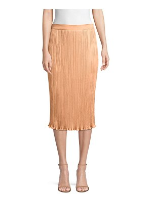 Max Mara emmy plisse pencil skirt