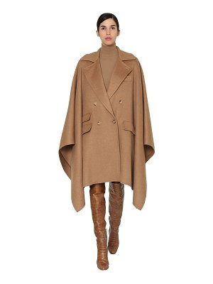 Max Mara Eureka double breasted camel cape