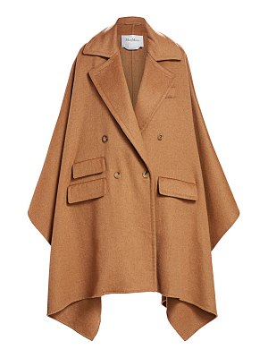 Max Mara eureka wool cape jacket