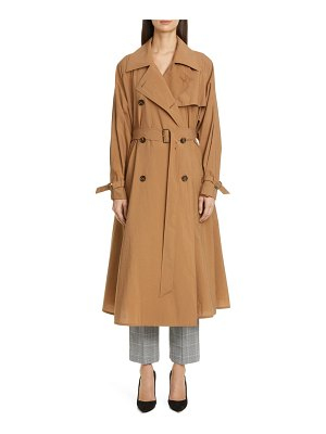 Max Mara falster flared trench coat