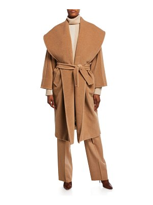Max Mara Fretty Wide-Collar Coat