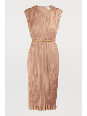 Max Mara Gineceo pleated dress