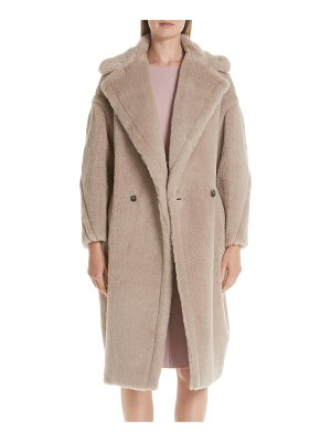 Max Mara ginnata teddy bear icon faux fur coat