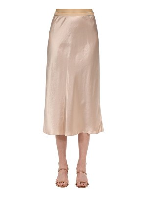 Max Mara High waist satin skirt