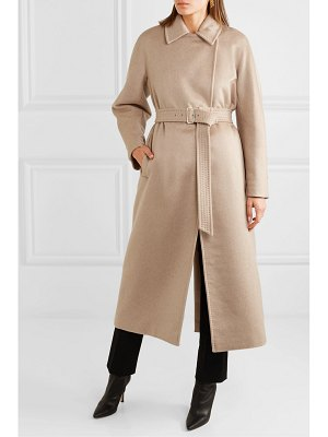 Max Mara jago belted cashmere and wool-blend coat