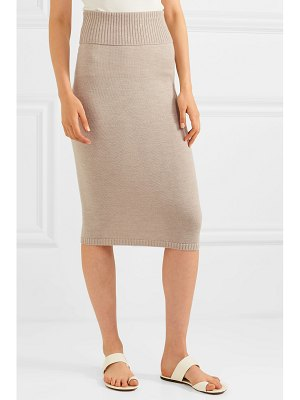 Max Mara leisure wool midi skirt