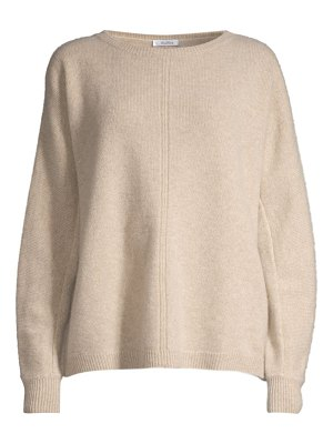 Max Mara masque front seam lofty cashmere sweater