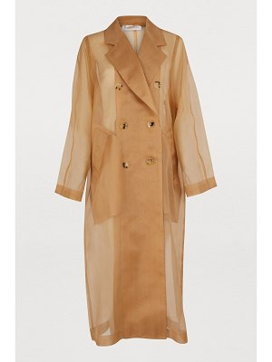 Max Mara Materia Silk trench coat