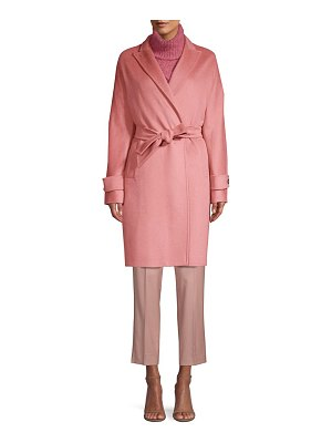 Max Mara nevada belted wrap coat