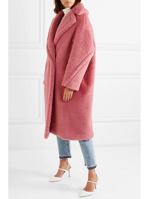 Max Mara oversized faux fur coat