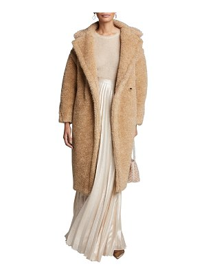 Max Mara Park Teddy Fleece Oversized Coat