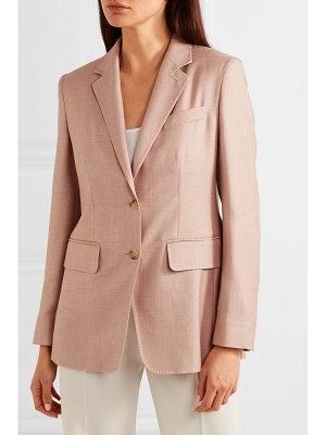 Max Mara rosina camel hair and silk-blend blazer