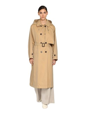 MAX MARA 'S Max mara the cube cotton trench coat