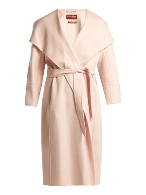 Max Mara Studio Draped wool-blend coat