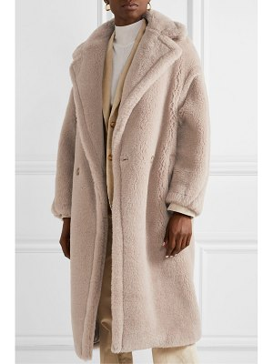 Max Mara teddy bear alpaca-blend coat