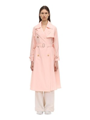 Max Mara Textured cotton blend trench coat