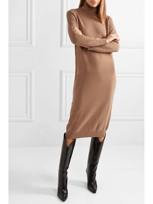 Max Mara wool and cashmere-blend turtleneck midi dress