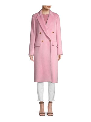 Max Mara zarda low double alpaca trench coat