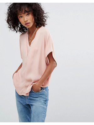 mbyM v neck short sleeve top